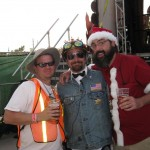 Stan, Crafty and I (grew that beard for 4 months!)